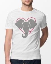 Ellen Save The Elephants Shirt Classic T-Shirt lifestyle-mens-crewneck-front-13