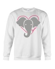 Ellen Save The Elephants Shirt Crewneck Sweatshirt thumbnail