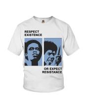 Respect Existence Shirt Yara Shahidi Youth T-Shirt thumbnail
