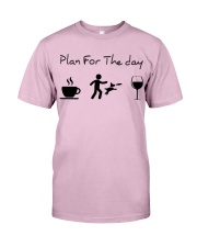 Plan for the day disc dog Classic T-Shirt thumbnail