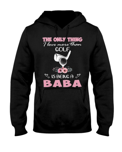 I love baba with golf
