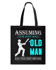 cricket old man Tote Bag thumbnail