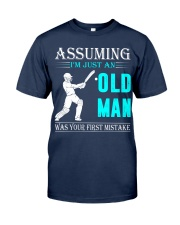 cricket old man Classic T-Shirt thumbnail