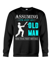 cricket old man Crewneck Sweatshirt thumbnail