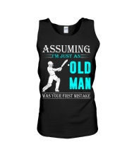 cricket old man Unisex Tank thumbnail