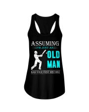 cricket old man Ladies Flowy Tank thumbnail
