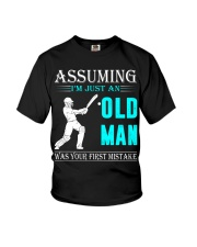 cricket old man Youth T-Shirt thumbnail