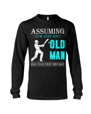 cricket old man Long Sleeve Tee thumbnail
