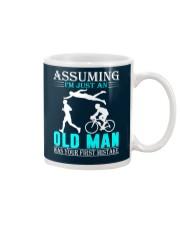 Triathlon assuming man Mug thumbnail