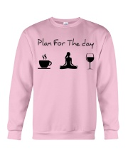 Plan for the day Yoga Crewneck Sweatshirt thumbnail