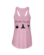 Plan for the day Yoga Ladies Flowy Tank thumbnail
