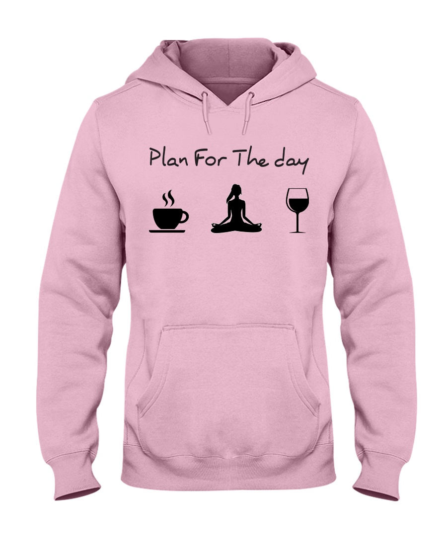 Plan for the day Yoga Hooded Sweatshirt