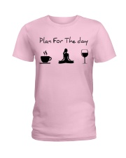 Plan for the day Yoga Ladies T-Shirt thumbnail