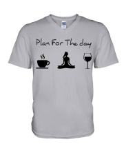 Plan for the day Yoga V-Neck T-Shirt thumbnail