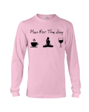 Plan for the day Yoga Long Sleeve Tee thumbnail