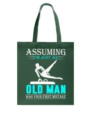 Gymnastics old man Tote Bag thumbnail