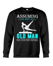 Gymnastics old man Crewneck Sweatshirt thumbnail