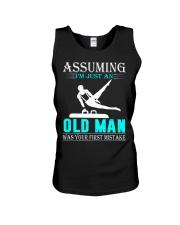 Gymnastics old man Unisex Tank thumbnail