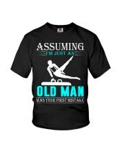 Gymnastics old man Youth T-Shirt thumbnail