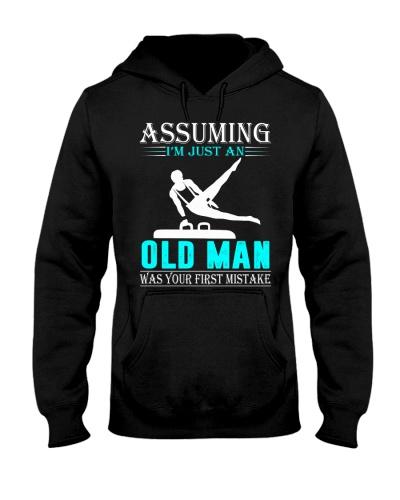 Gymnastics old man
