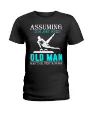 Gymnastics old man Ladies T-Shirt thumbnail