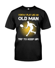 old man tennis Classic T-Shirt thumbnail