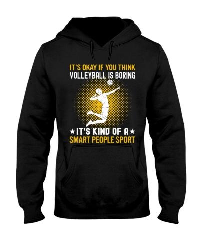 volleyball smart sport man