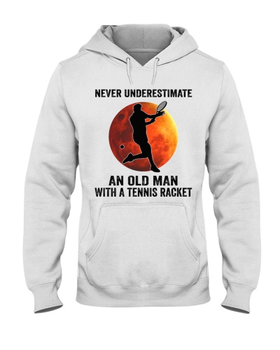 tennis never underestimate old man