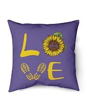 "Love hiking Indoor Pillow - 16"" x 16"" thumbnail"