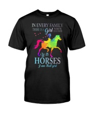 girl with horses Classic T-Shirt thumbnail