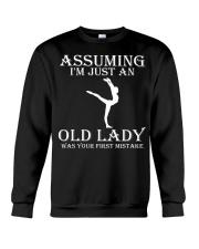Gymnastics lady - s001 Crewneck Sweatshirt thumbnail