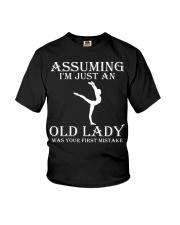 Gymnastics lady - s001 Youth T-Shirt thumbnail