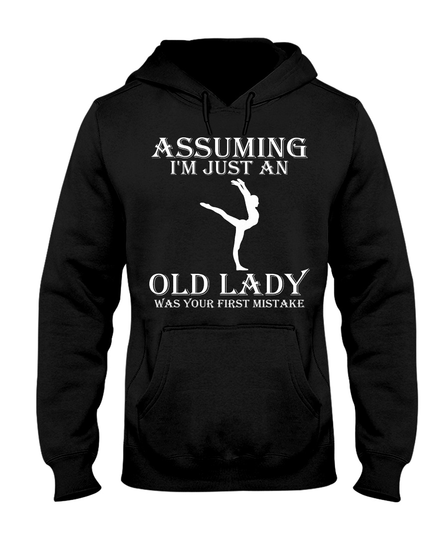 Gymnastics lady - s001 Hooded Sweatshirt