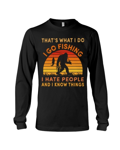 bigfoot fishing hate people