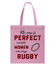 Rugby perfect Tote Bag thumbnail
