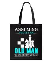 chess old man Tote Bag thumbnail