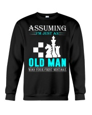 chess old man Crewneck Sweatshirt thumbnail
