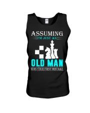 chess old man Unisex Tank thumbnail