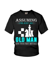 chess old man Youth T-Shirt thumbnail