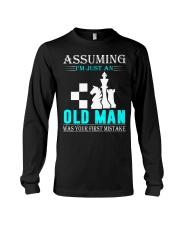 chess old man Long Sleeve Tee thumbnail