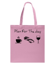 Plan for the day bobsled Tote Bag thumbnail