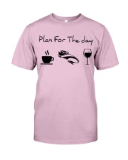 Plan for the day bobsled Classic T-Shirt thumbnail