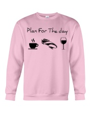 Plan for the day bobsled Crewneck Sweatshirt thumbnail