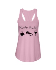 Plan for the day bobsled Ladies Flowy Tank thumbnail