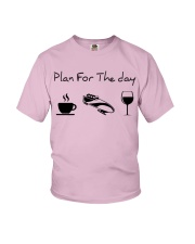 Plan for the day bobsled Youth T-Shirt thumbnail