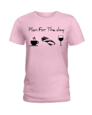 Plan for the day bobsled Ladies T-Shirt thumbnail