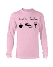 Plan for the day bobsled Long Sleeve Tee thumbnail