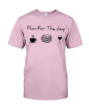 Plan for the day reading Classic T-Shirt thumbnail