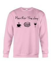 Plan for the day reading Crewneck Sweatshirt thumbnail