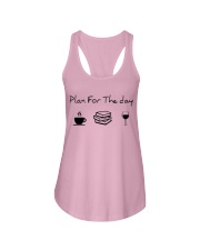 Plan for the day reading Ladies Flowy Tank thumbnail